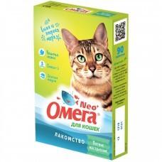 Омега Нео + К-КМ с кошачьей мятой для кошек