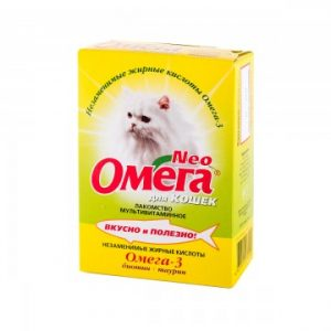 Омега Нео + К-Ш с биотином и таурином для кошек